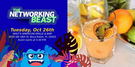 Networking Event & Business Card Exchange by The Networking Beast (Boca) tickets