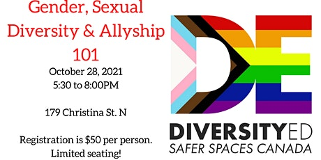 Gender, Sexual Diversity & Allyship Training tickets