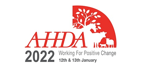 AHDA Conference 2022 tickets