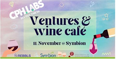 Ventures & Wine Café tickets