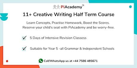 11+ Creative Writing Half Term Course tickets