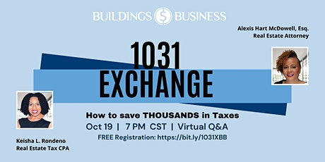 1031 Exchange - Save THOUSANDS on Taxes tickets
