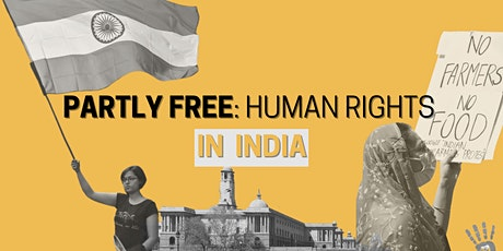 Partly Free: The current status of human rights in India tickets