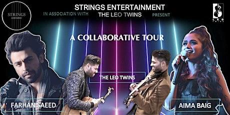 A Collaborative Tour 2021: Farhan Saeed, Aima Baig and The Leo Twins tickets