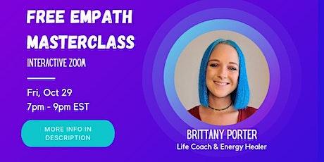 Empath Masterclass tickets