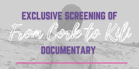 """From Cork to Kili"" Screening tickets"