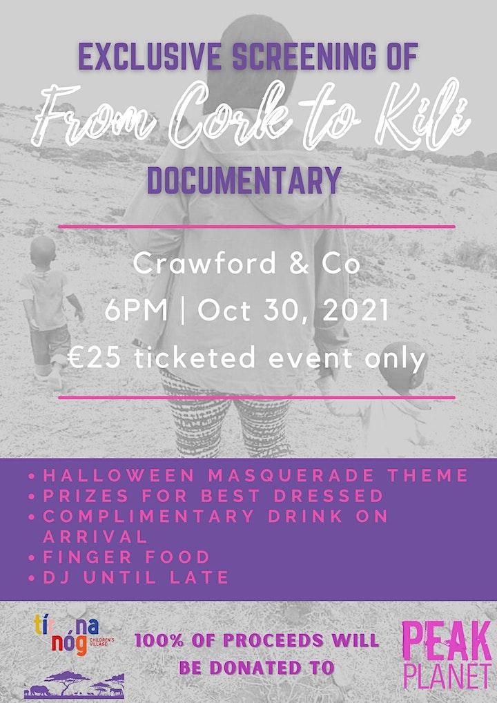 """From Cork to Kili"" Screening image"