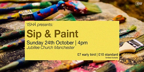 'ISHÁ's Sip and Paint tickets