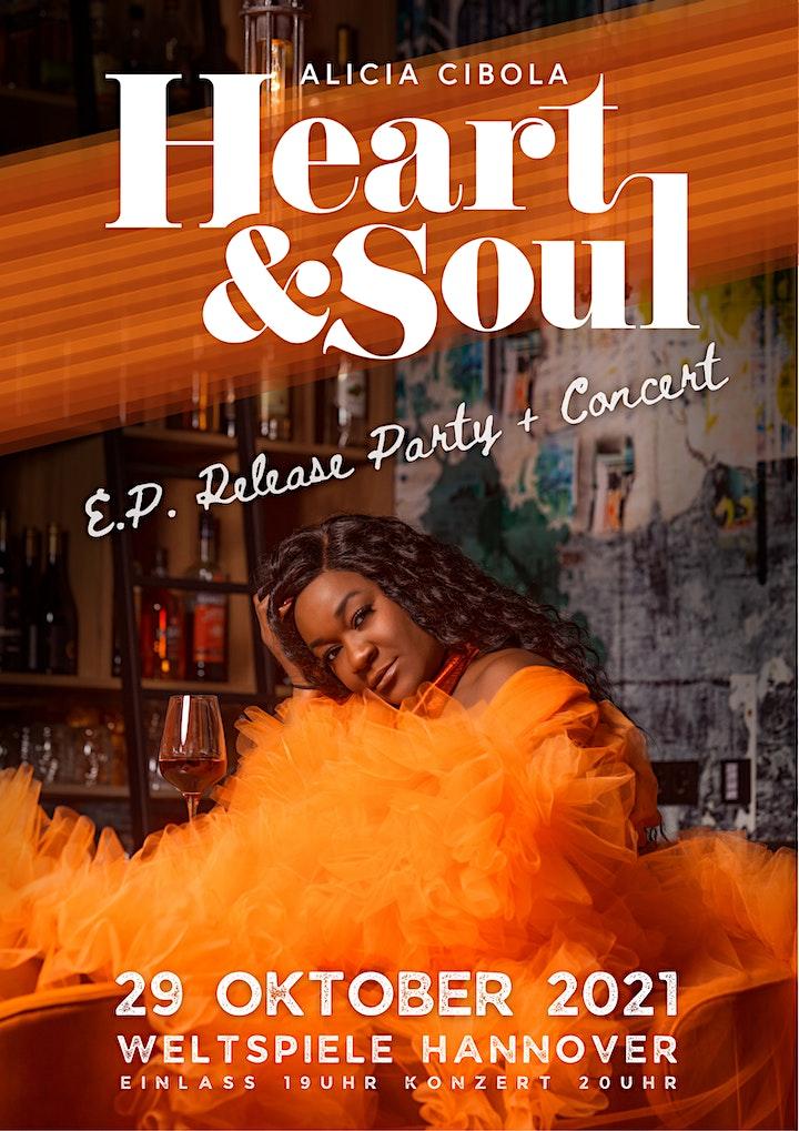 Alicia Cibola HEART & SOUL  E.P. Release Party & Concert image
