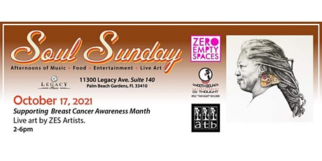 """Soul Sundays"" - Artist Studio Tours & Live Art @ Zero Empty Spaces PBG #10 tickets"