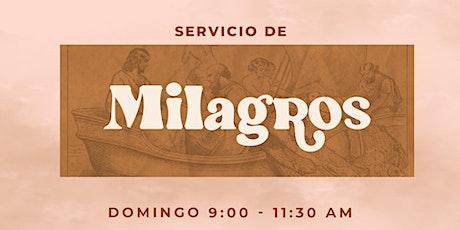 Servicio Dominical   11:30 A.M. entradas