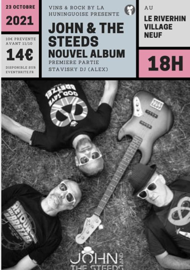 Image pour JOHN & THE STEEDS NOUVEL ALBUM pour la première de VINS & ROCK