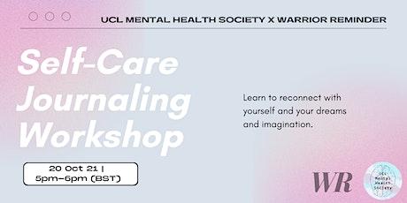 Self-Care Journaling Workshop tickets