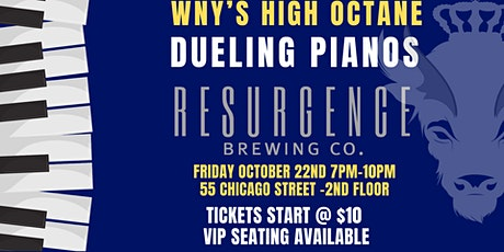 Dueling Pianos Live at Resurgence Brewing Co. tickets