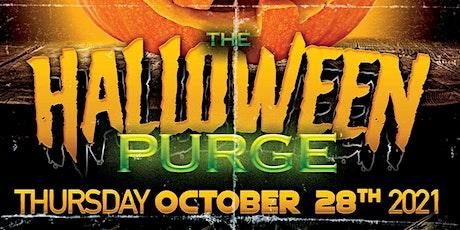 Free Halloween purge pree drinks tickets