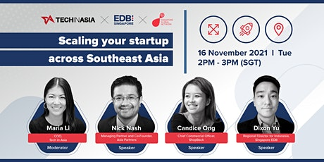 Scaling your startup across Southeast Asia tickets
