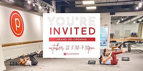 Pure Barre Buffalo Grand Re-Opening! tickets