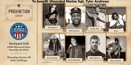 Bourbiz Presents: Veteran Comedy Night for Veterans and Military Spouses tickets
