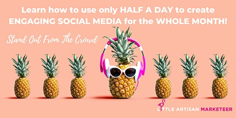 SOCIAL MEDIA ACCELERATOR – Without Overwhelm Workshop tickets