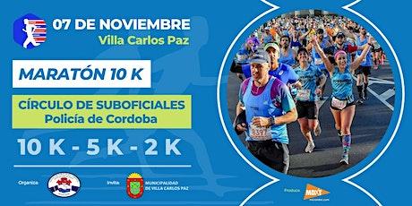 Maraton 10k Circulo Suboficiales, Policia de Cordoba. entradas