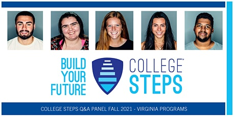 College Steps Q&A Panel Fall 2021 - Virginia Programs tickets
