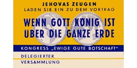 Internationaler Kongress: München 1963 - PREMIERE Tickets