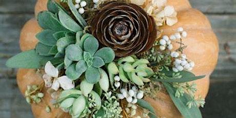 Harvest Floral Arrangement Workshop tickets
