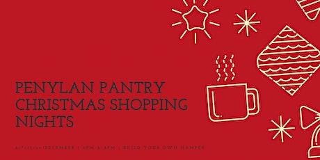 Penylan Pantry Christmas Shopping tickets