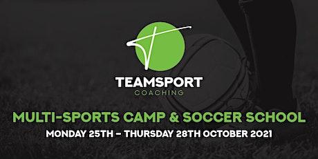 Teamsport Coaching: Multi-Sports Camp & Soccer School tickets