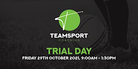 Teamsport Coaching: Trial Day tickets