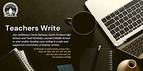 2021-22 Teacher Writing Series: Session 2 tickets