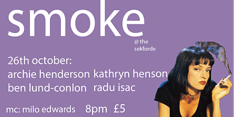 Smoke Comedy featuring Archie Henderson tickets