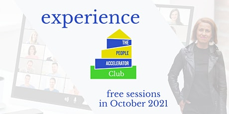 Experience The People Accelerator tickets