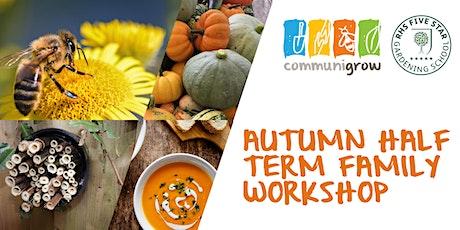 Autumn Half term Family Workshop tickets