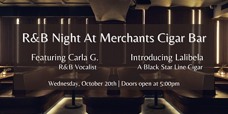 R&B night at Merchants Cigar Bar tickets