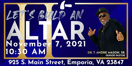 Let's Build An Altar II tickets