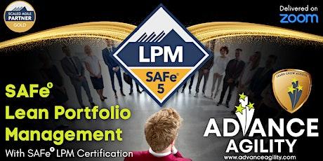 SAFe LPM (Online/Zoom) Nov 13-14, Sat-Sun, California  Time (PST) tickets