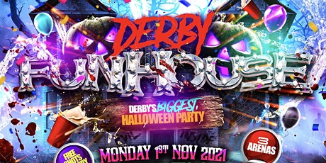 Derby Funhouse - Derby's Biggest Halloween Party tickets