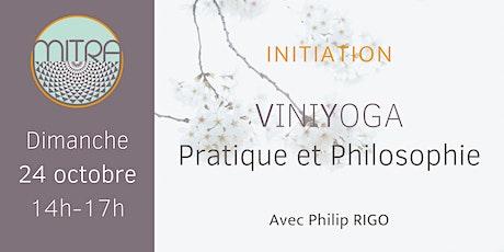 Initiation au Viniyoga : pratique et philosophie tickets