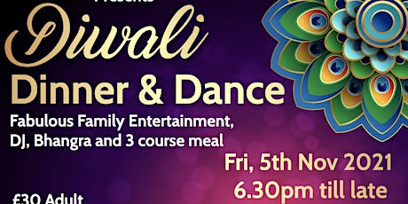Diwali - Dinner and Dance tickets