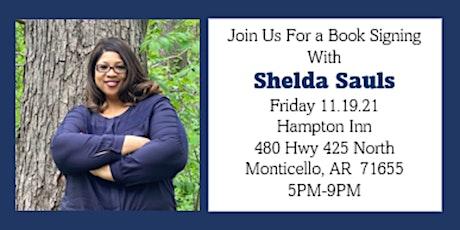 Shelda Sauls Book Signing tickets