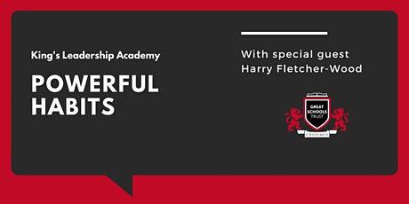 Powerful Habits with Harry Fletcher-Wood tickets