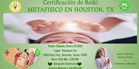 Certificación de Reiki de la Metafisica entradas