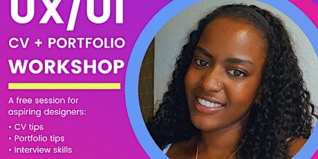 BLACK GIRLS IN TECH -  UI/UX CV + PORTFOLIO WORKSHOP entradas