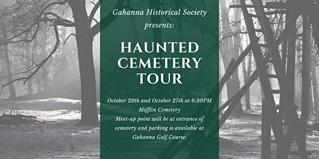 Gahanna Historical Society Haunted Cemetery Tour tickets