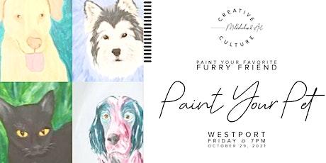 Paint Your Pet | Westport, Kansas City tickets