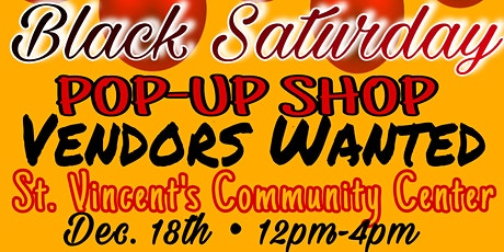 Black Saturday Pop-Up Shop tickets