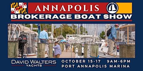 Annapolis Brokerage Boat Show tickets