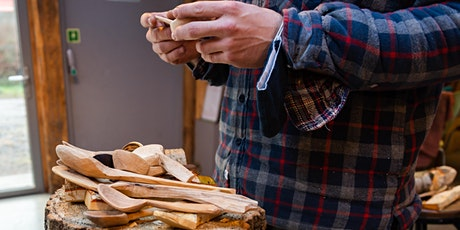 Spoon Carving Workshop in Fife - From Tree to Table, learn skills for life. tickets