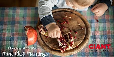 VIRTUAL November: Mini Chef Mornings tickets